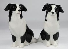 Buy the Cosmos 20870 Gifts Ceramic Border Collie Salt and Pepper Set, 2-1/2-Inch securely online at charingskitchen.com today.