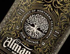 Almanac Grand Cru — The Dieline - Branding & Packaging Design