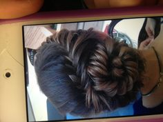 This will be how I do my hair for prom! :)