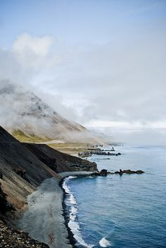 Road to Höfn, Iceland