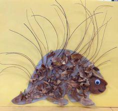 Porcupine craft by Pamela J. Wilonski
