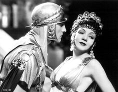 Fredric March - Claudette Colbert movie still,    in ''Sign of the Cross'' -1932