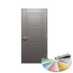 Ytterdør Gilje Dirdal Profil Tett Valgfri Farge - Enkel Ytterdør - Ytterdører