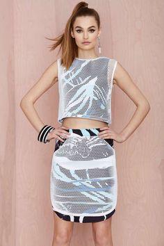 Doris Q Dino Net Skirt - What's New