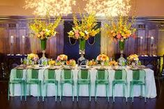 Colored Lucite Reception Seating