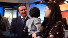 "Marcus, Israel and Rebecca Lamb at ""Heart for the World"" [Daystar.com]"