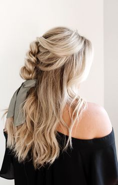 Experience the most natural looking hair extension method. Natural Hair Styles, Long Hair Styles, Love Your Hair, Blow Dry, Remy Human Hair, Cut And Color, Up Hairstyles, Blondes, Hair Looks