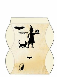 Hallowee. Caja almohada