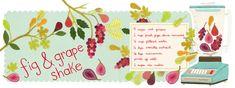 fig and grape shake