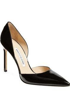 Manolo Blahnik 'Tayler' d'Orsay Pump available at #Nordstrom