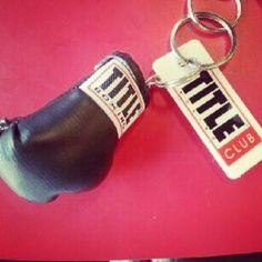 New member @alissamccaffrey shows off her @TITLEBoxingClub keychain #TITLEfanpics