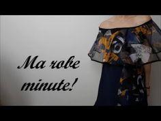 Diy  :Comment coudre sa robe d'été toujours sans patron! - YouTube Diy Couture, Creation Couture, T Shirt, Ballet Skirt, Fashion Ideas, Skirts, Craft, Youtube, Style