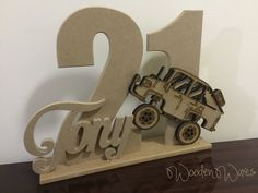 Laser Cut and HandCut in Brisbane Australia. Personalised Names and Shapes. Wooden Projects, Wood Crafts, 21st Birthday Wishes, Brisbane Australia, Birthday Invitation Templates, Baby Decor, Craft Gifts, Birthdays, Place Card Holders