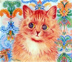 A later work by Louis Wain.