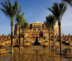 Emirates Palace in Abu Dhabi - the second most expensive hotel ever built at 3 billion opened in 2005