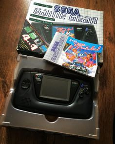 Shared by retrogamecollector1984 #retrogaming #microhobbit (o) http://ift.tt/1SlPxLM this up today at a table top sale! Complete! Looks hardly been played  #sega #handheld #gamegear #game #gamer #games #gaming #videogame #videogames #videogamecollection #videogameaddict #collection #collector #retro  #nintendo #3ds #wii #wiiu #xbox #xboxone #playstation #playstation4 #ps4 #instapic #instagame #instagood #snes #n64 #16bit