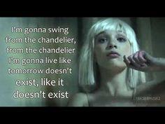 Sia - Chandelier (Lyrics Video) [HD] - YouTube