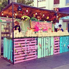 coconut water stand