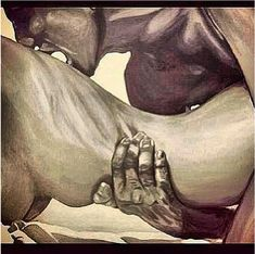 In the heat of the night... Nothing better than black love...
