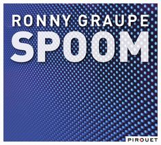 """CD cover design """"Spoom"""" for Ronny Graupe, released on Pirouet Records. Photography by Konstantin Kern"""