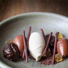 Earl Grey Ice Cream, Chocolate & Honey Recipe | Australian Good Food Guide