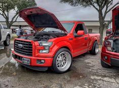 Image may contain: car and outdoor Custom Pickup Trucks, Ford Pickup Trucks, Chevy Trucks, Shelby Truck, Shelby F150, Ford F150 Fx4, F150 Truck, Lowered Trucks, Lowered F150