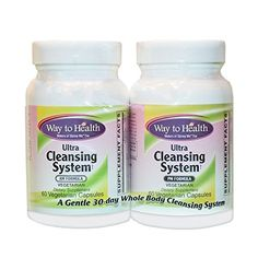 Ultra Cleansing System Kit - 30 Day AM/PM Whole Body Gentle Cleansing System - Vegetarian Natural Colon Cleanse, Homemade Detox, Am Pm, 30 Day, Vegetarian, Health, Kit, Amazon, Food