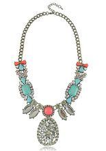 Damen Engagement Karabinerverschluss Wunderschöne Halskette