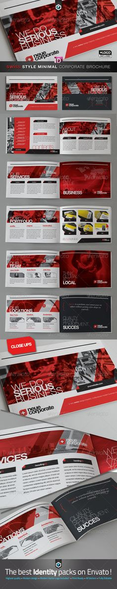 RW Swiss Style Corporate Brochure - Catalog - GraphicRiver Item for Sale