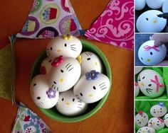 These Hello Kitty Easters Eggs are So Adorable - http://www.amazinginteriordesign.com/hello-kitty-easters-eggs-adorable/