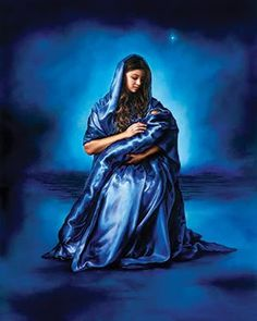 akiane kramarik art.  Mary with baby Jesus.        I believe she is an artist, called by the Lord. Absolutely amazing.