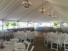 Camas Meadows Pavilion Tent Wedding Reception