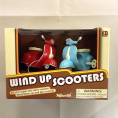 Fancy Wind Up Scooters!