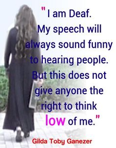 Deaf Culture: Funny Voice Full Color Poster - Signed by Artist - FREE Ship!