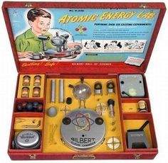 Atomic energy lab - over 150 exciting experiments - No. U-238