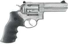"Ruger GP100, 357 Magnum/ Adjustable sights/ SS finish and 4"" Heavy Barrel  $543.99"