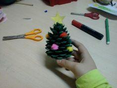 Árbol de navidad con piña ;)