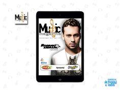 Aplicativo Music Magazine para iPad, iPhone e Android, no Portfolio de Aplicativos da Foggy Labs  #revistanotablet