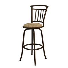 Pull up to your bar with a comfortable bar stool!