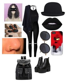 """Untitled #220"" by jacobsbae ❤ liked on Polyvore featuring Joseph, kangol and Lime Crime"