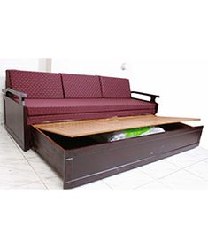 Order Cum Bed from Chennaichairs. Shop from wide range of sofa cum bed online in India at best prices. Free Delivery within Chennai, rest of India shipping charged as applicable. Tv Cabinet Design Modern, Modern Design, How To Make Sofa, Bed Design, House Design, Futon Sofa Bed, Beds Online, Furniture Design, Furniture Ideas