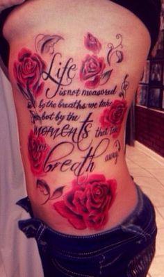 Cystic Fibrosis tattoo / rib tattoo / side tattoo #cysticfibrosis#ribtattoos#sidetattoos