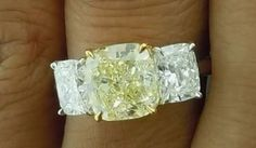 Yellow Diamond Rings, Gems, Engagement Rings, Crystals, Jewelry, Enagement Rings, Wedding Rings, Jewlery, Jewerly