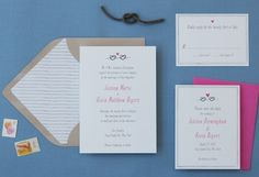 Cute invitation suite