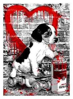 I Woof You – Art Print By Mr. Brainwash