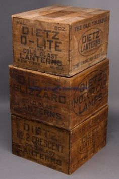 Crate Indian Tea Chest Vintage Antiqued Wooden Box