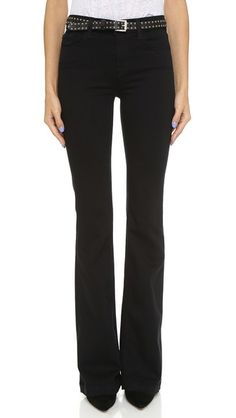 J Brand Maria High Rise Flare Jeans, Shop Bop ($228)