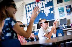 Cine en 3D para colegios