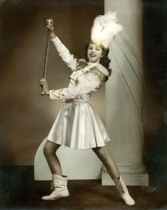 Baton Twirler... Old School with class!