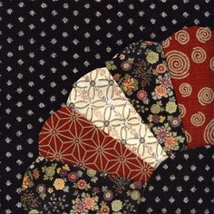 Japanese quilt block 1   by Patchwiz / Julia